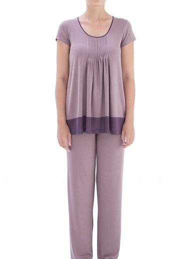 Chakra Dorothy Pijama Takımı Mor
